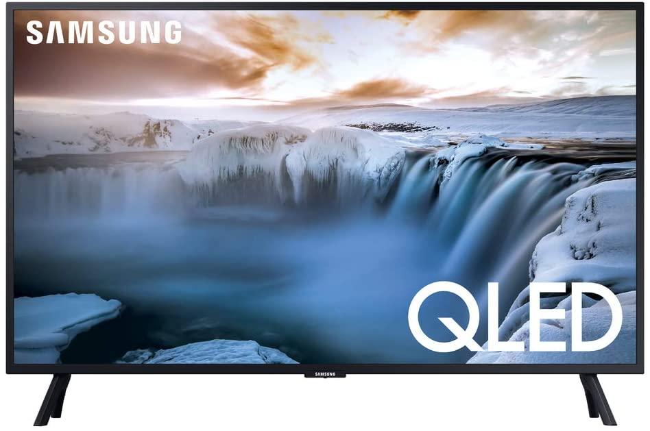 """SAMSUNG QN32Q50RAFXZA Flat 32"""" QLED 4K"""