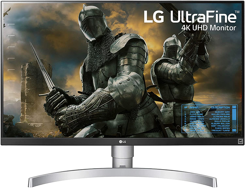 4. LG 27UK650-W 27 Inch 4K UHD IPS LED Monitor with HDR 10