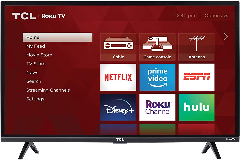 8. TCL 32-inch 1080p Roku Smart LED TV