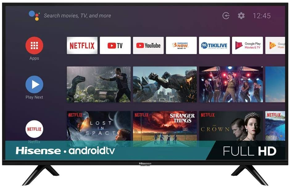 Hisense 40-Inch 40H5500F Class H55 Series Android Smart TV