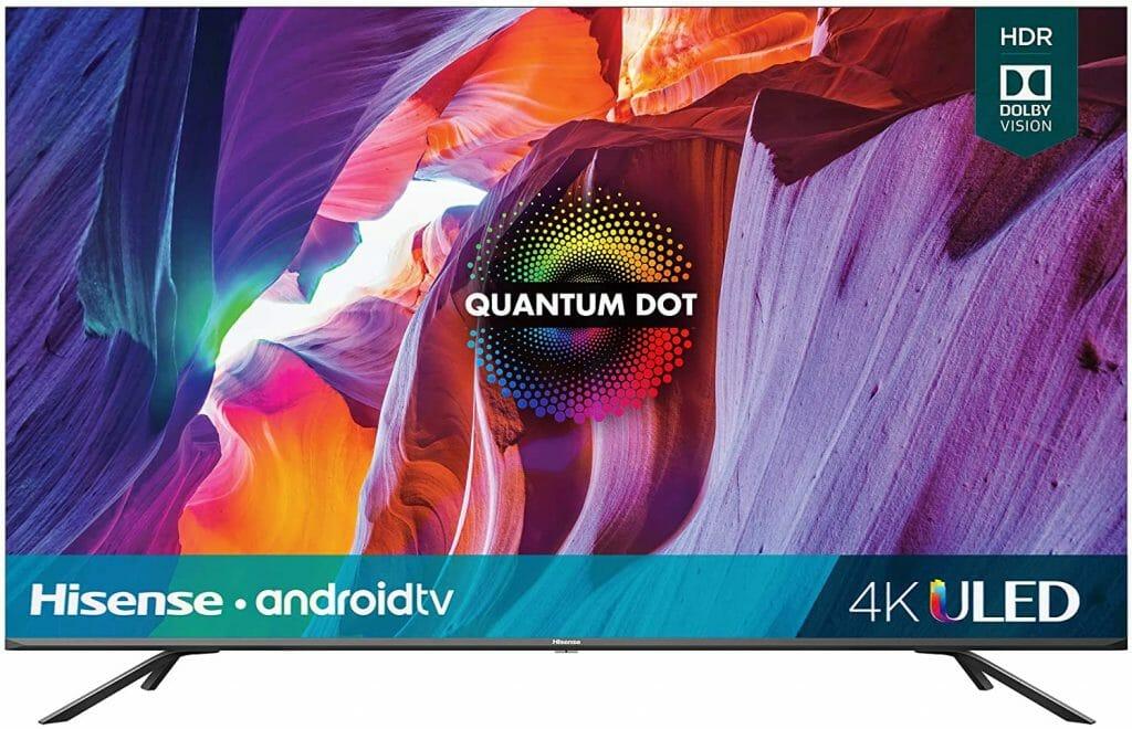 Hisense H8G 55-Inch Quantum Series 4K ULED Smart TV